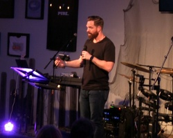 Ryan Snell speaks at ENERGIZE
