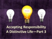 Accepting Responsibility